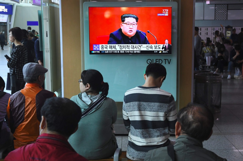 Seul, l'annuncio del summmit Trump-Kim in televisione
