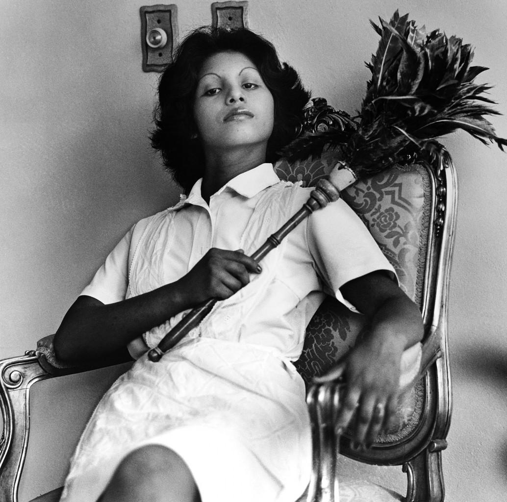Sandra Eleta, Edita  (la del plumero), Panamá, 1977