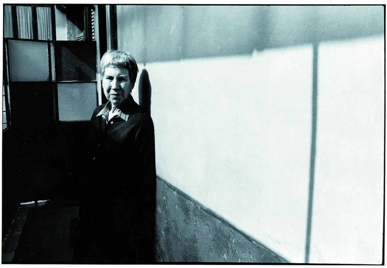 Natalia Ginzburg (Palermo 1916 - Roma 1991), foto Francesco Gattoni, Leemage/ Writer Pictures
