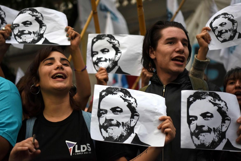 Sostenitori di Lula