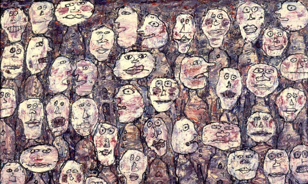 Jean Dubuffet, Affluence, 1961