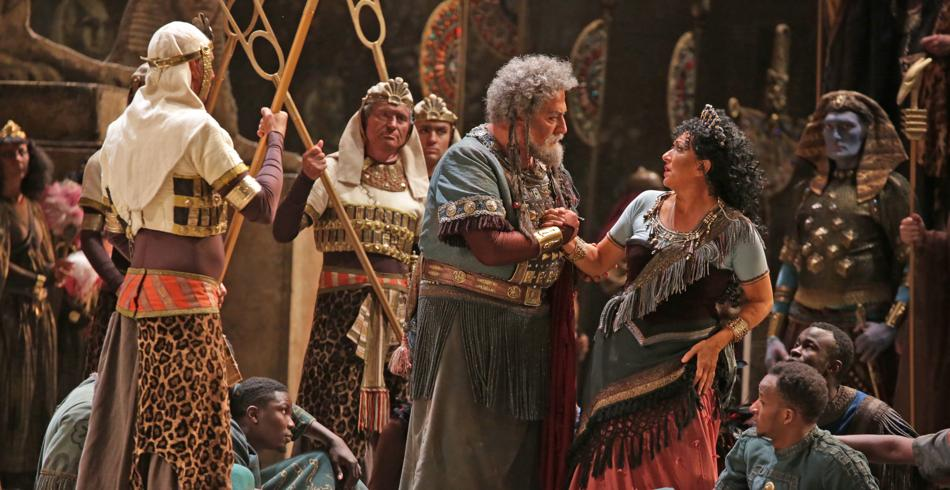 Una scena da Aida