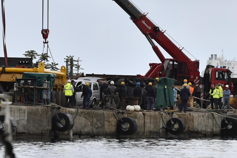 La Spezia, il cantiere navale del gruppo Antonini dove ieri è morto Dragan Zekic, operaio croato di 56 anni f