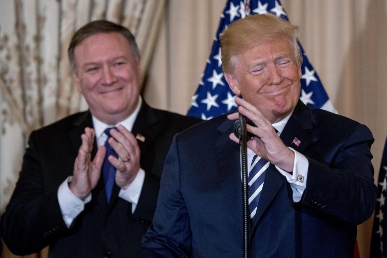 Donald Trump e Mike Pompeo, nuovo segretario di stato Usa