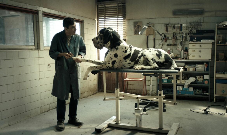 Marcello Forte in una scena di «Dogman»