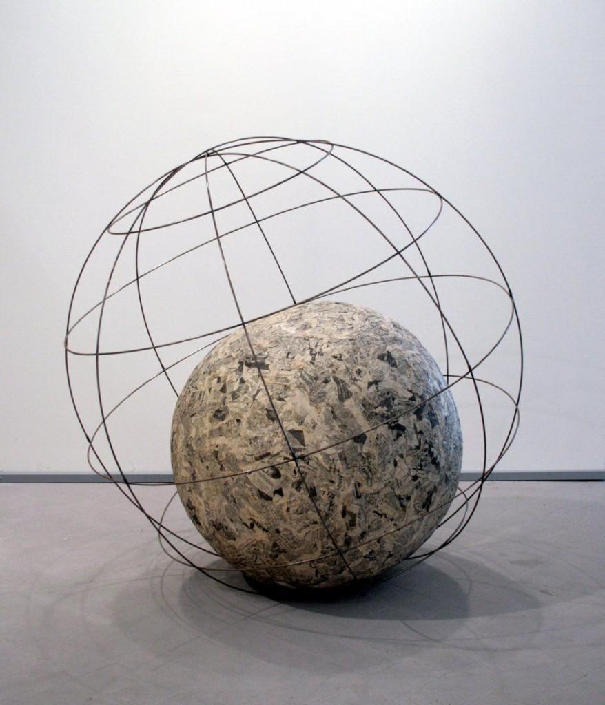 Michelangelo Pistoletto, « Mappamondo (Globe)», 1966 - 1968