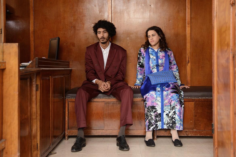 Sara Elmhandi e Hamza Khafif