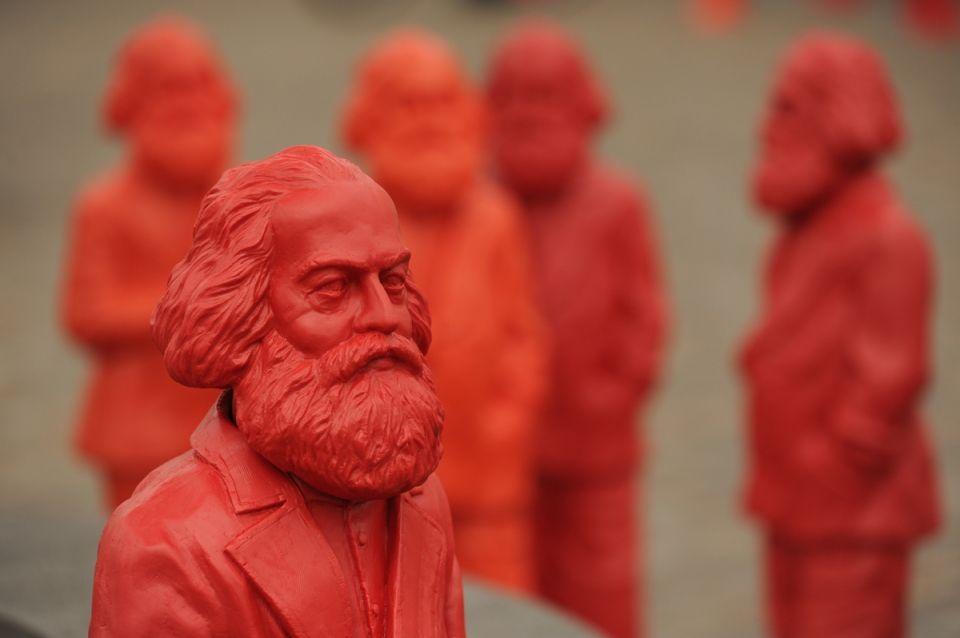 Ottmar Hörl,  «Karl Marx», 2013