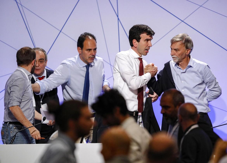 Andrea Marcucci, Maurizio Martina e Graziano Delrio
