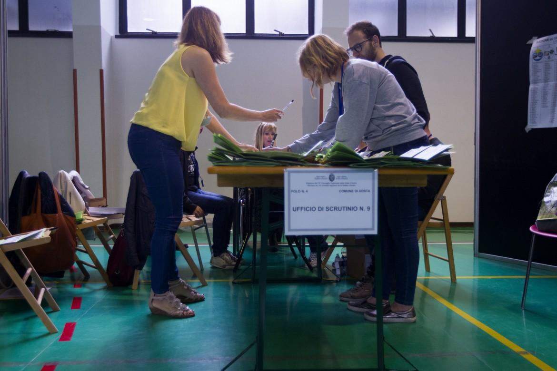 Elezioni Regionali in Valle d'Aosta, giornata di spoglio