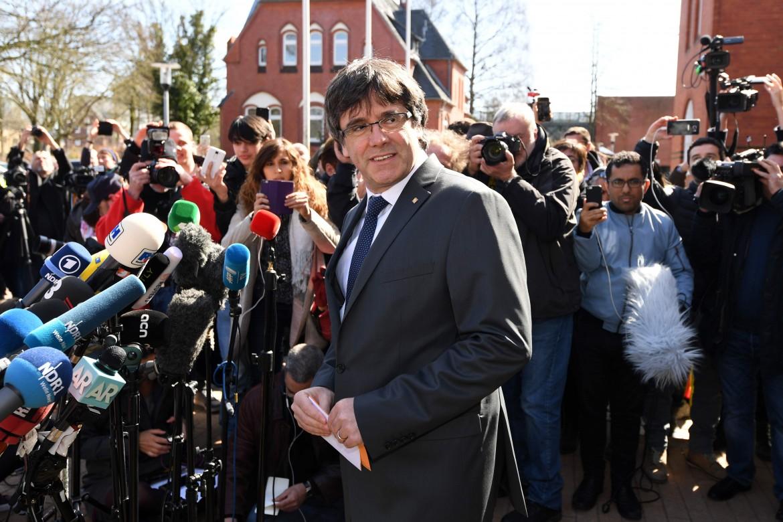 Carles Puigdemont in Germania