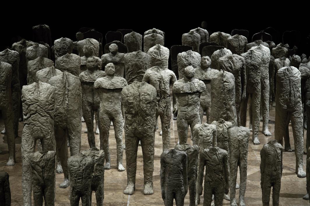 Magdalena Abakanowicz, «Crowd and Individual»