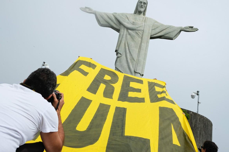 Manifestazione in Brasile per la liberazione di Lula