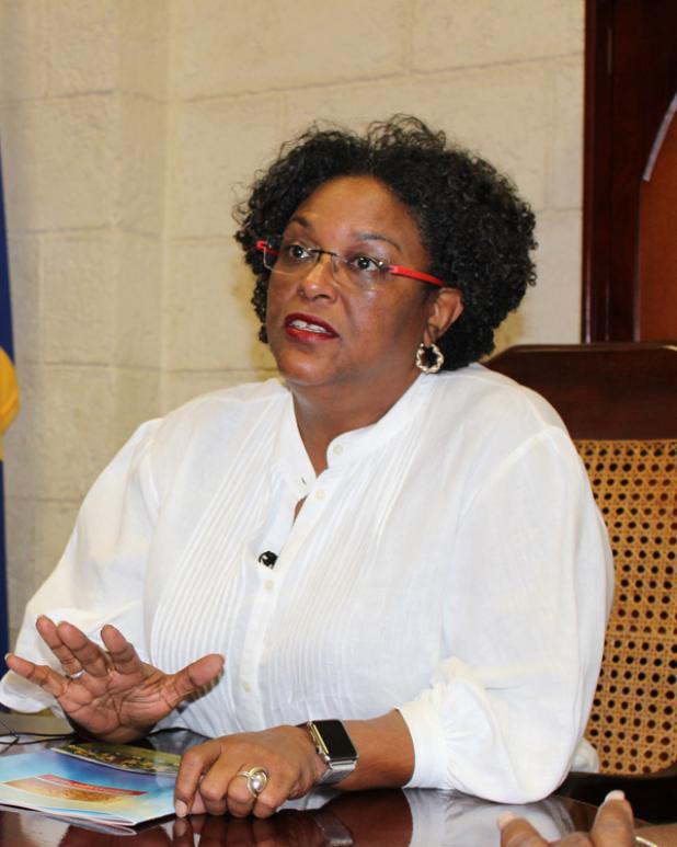 Mia Mottley, nuova premier delle Barbados