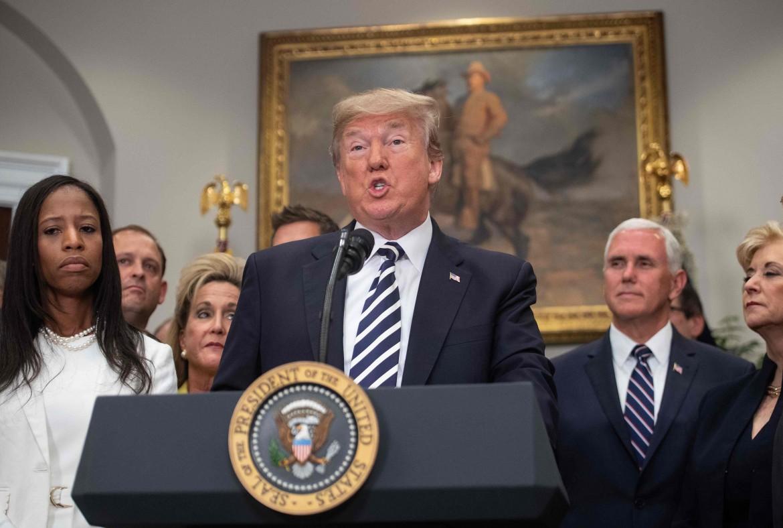 Donald Trump alla Casa bianca