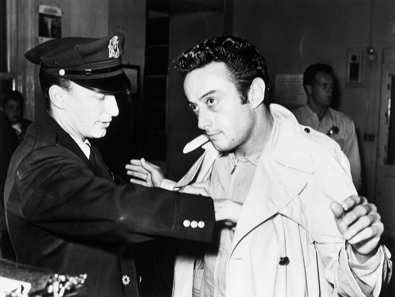 Lenny Bruce arrestato a S. Francsco nel 1961 per oscenità