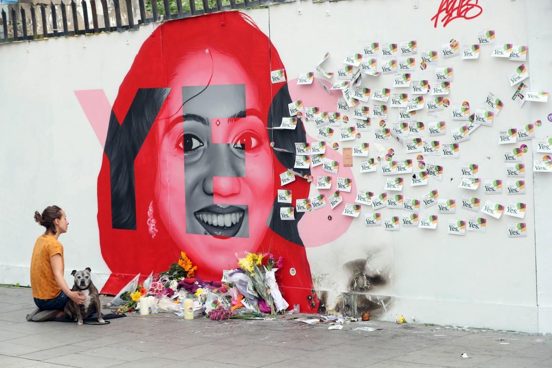 Dublino, murales per Savita Halappanavar