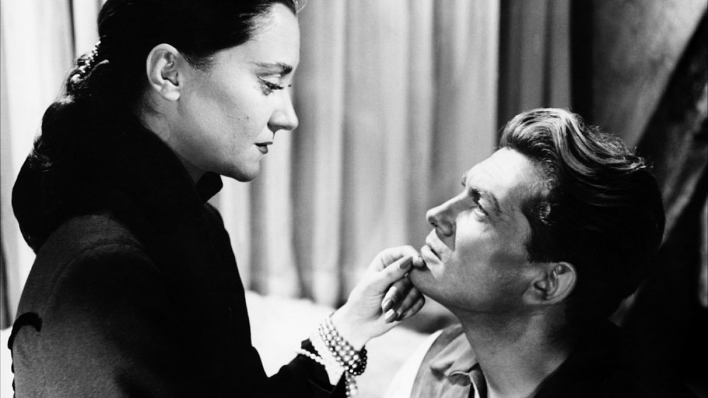 Maria Casares e Jean Marais nell'Orpheus  di Jean Cocteau, 1950