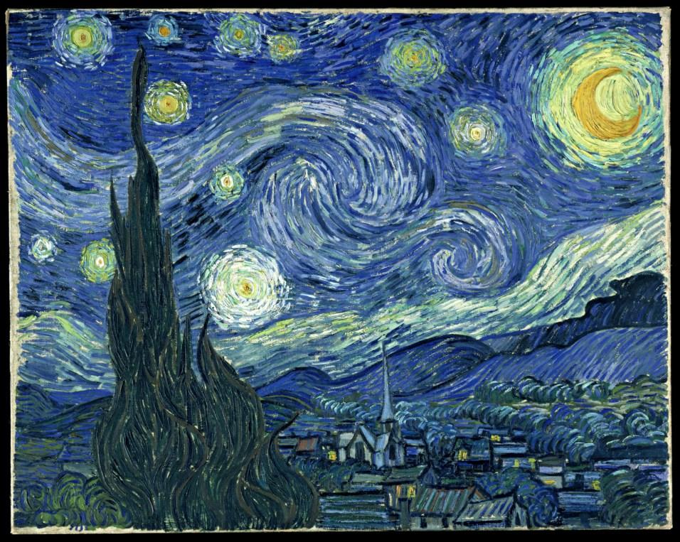 Vincent Van Gogh, Notte stellata, 1889