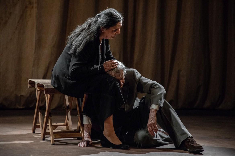 Giovanna Daddi e Dario Marconcini in «Quasi una vita»