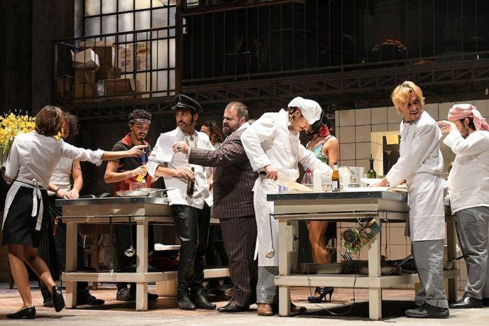 Una scena da «La cucina»