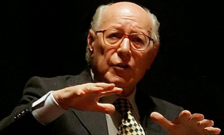 Il filosofo Emanuele Severino