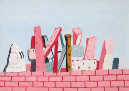 Philip Guston, Untitled (Wall), 1971