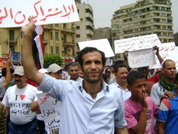 L'avvocato e attivista egiziano Haitham Mohamadein