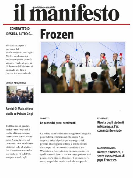 Edizione del 20052018
