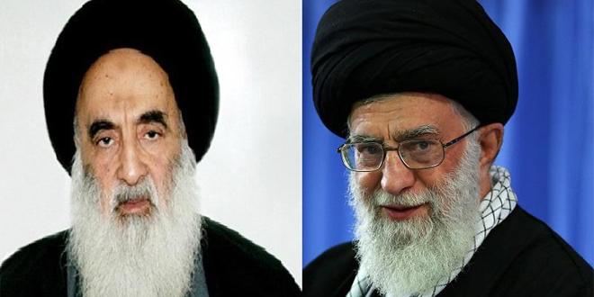 Ali Sistani e Ali Khamenei