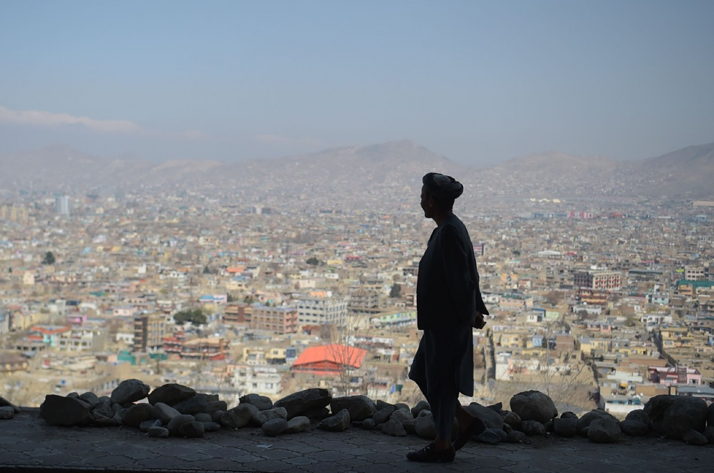 Guardando Kabul dall'alto. Una delle ultime foto scattate da Shah marai, che ha trovato recentemente la morte in un sanguinoso attentato dello Stato islamico