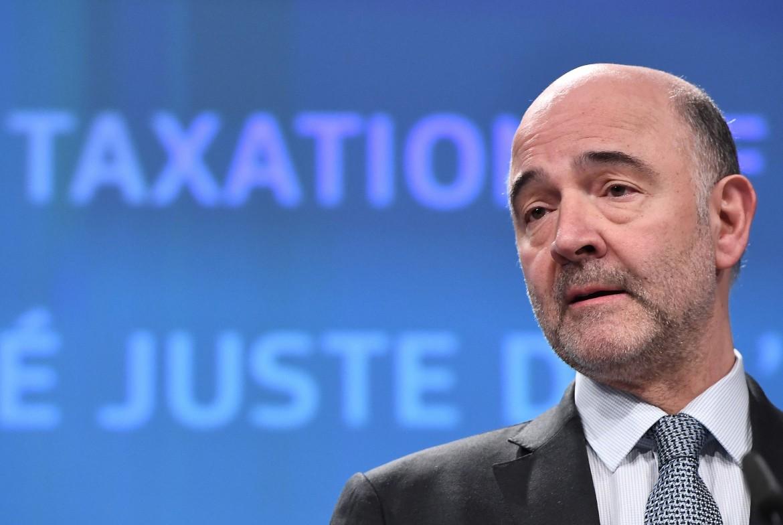 Il commissario Ue agli affari economici Pierre Moscovici