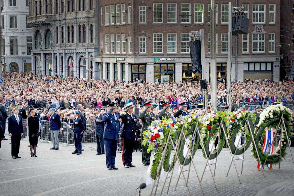 Il re Willem-Alexander e la regina Máxima  alle celebrazioni