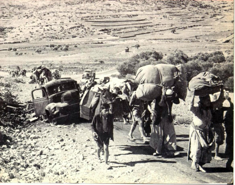 L'esodo palestinese del 1948