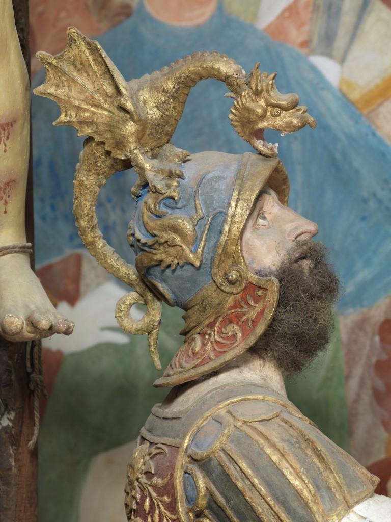 Gaudenzio Ferrari, dettaglio della Cappella della Crocifissione, Varallo, Sacro Monte