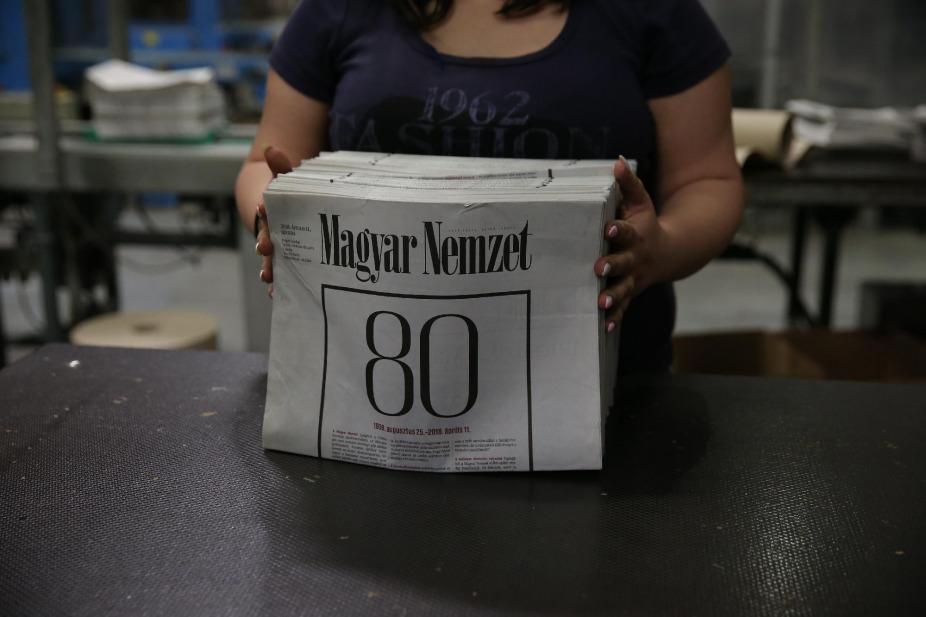 L'ultimo numero di Magyar Nemzet