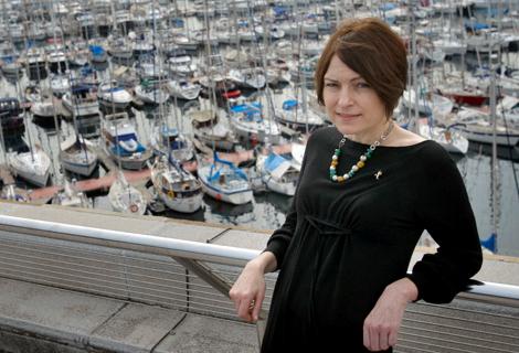 La scrittrice Clara Uson