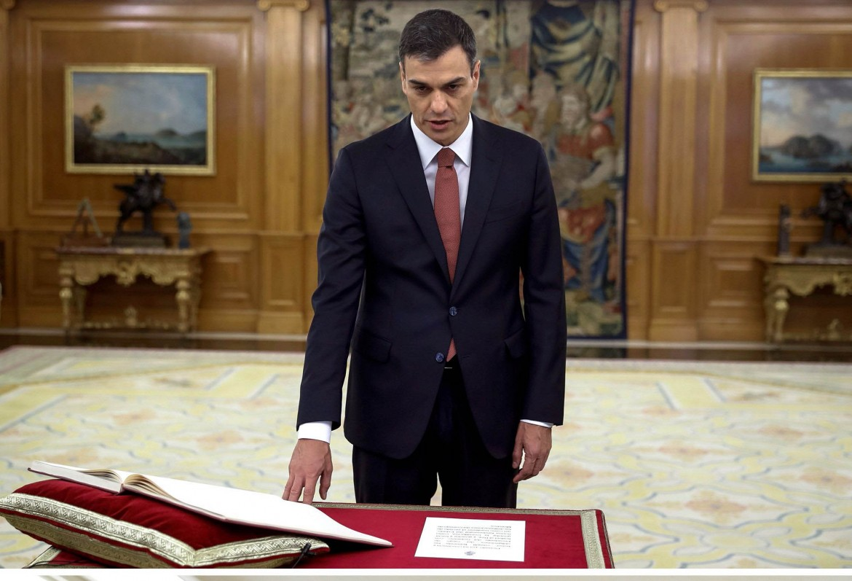 Il nuovo primo ministro spagnolo Pedro Sánchez