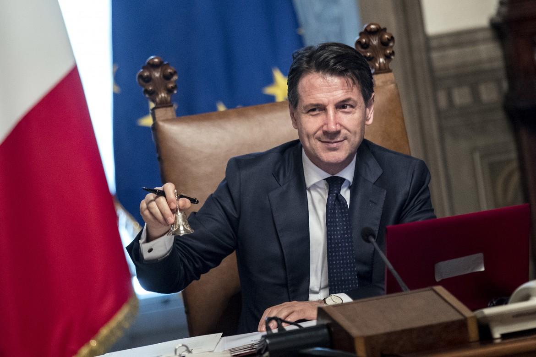 Giuseppe Conte a palazzo Chigi
