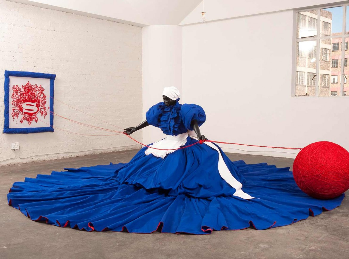 Mary Sibande, «Wish you were here»