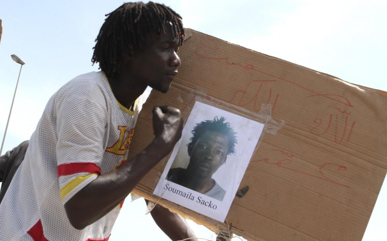 Ieri un corteo a San Ferdinando, nel vibonese: giustizia per Soumalya Sacko