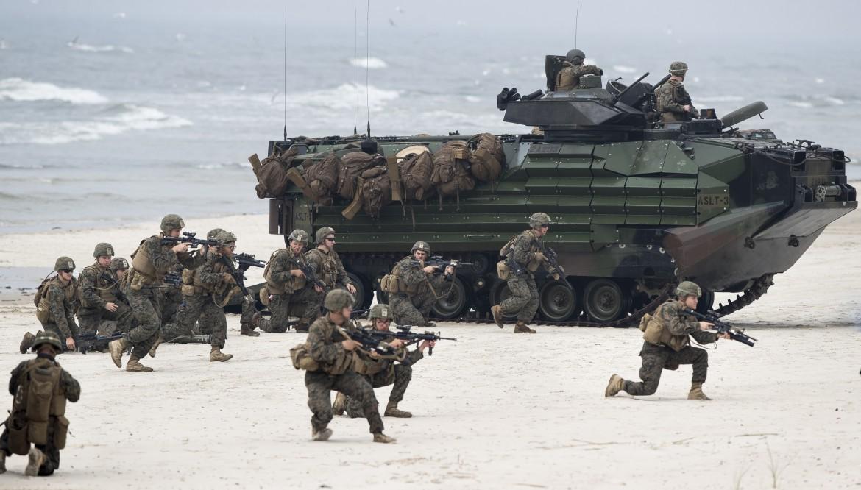Forze armate Nato in Lituania per un'esercitazione