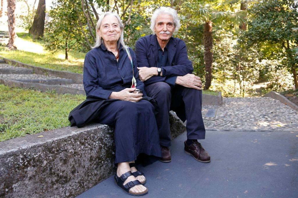 Angela Ricci Lucchi insieme a Yervant Gianikian