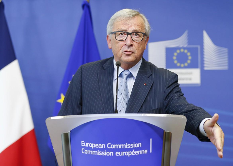 Il presidente della Commissione europea Juncker