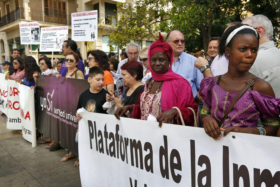 Spagna, manifestazione per la sanità universale