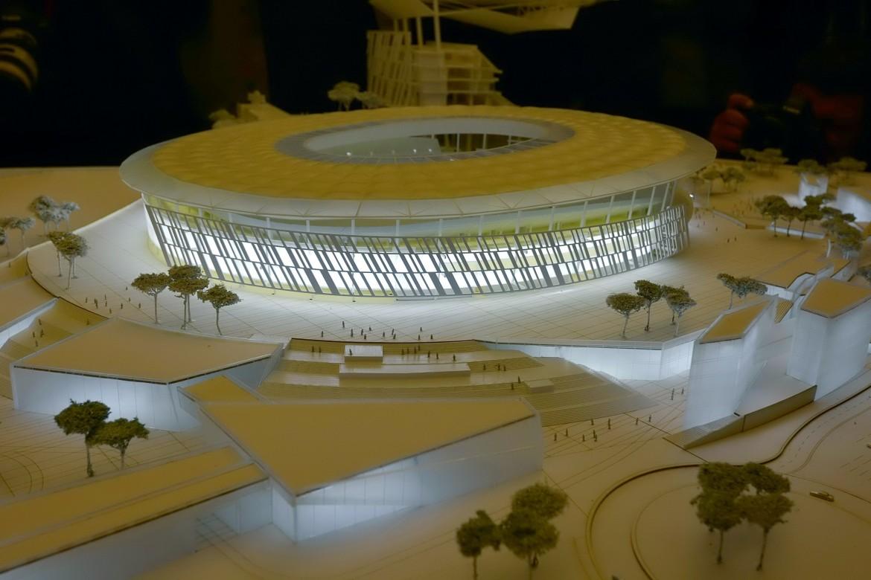 Il primo progetto dello Stadio della Roma (2014)