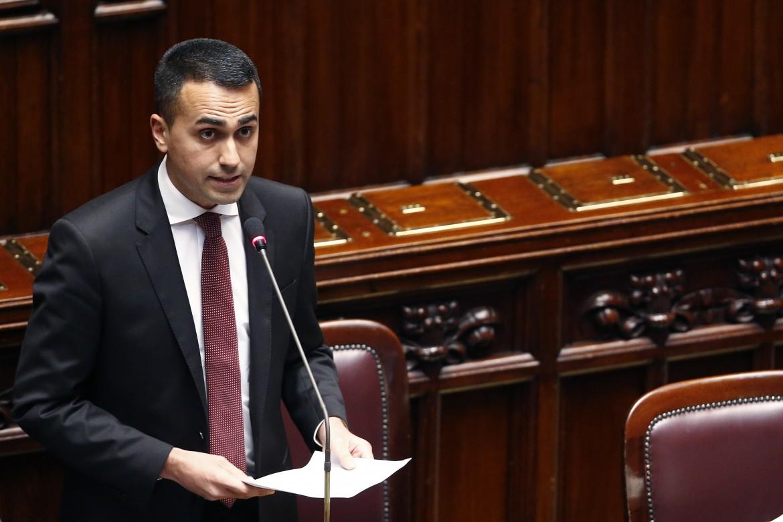 Il vice-premier Luigi Di Maio