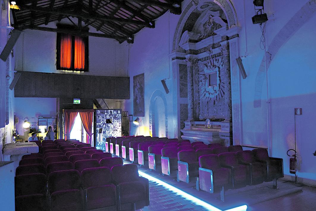 Il cinema Pegasus di Spoleto