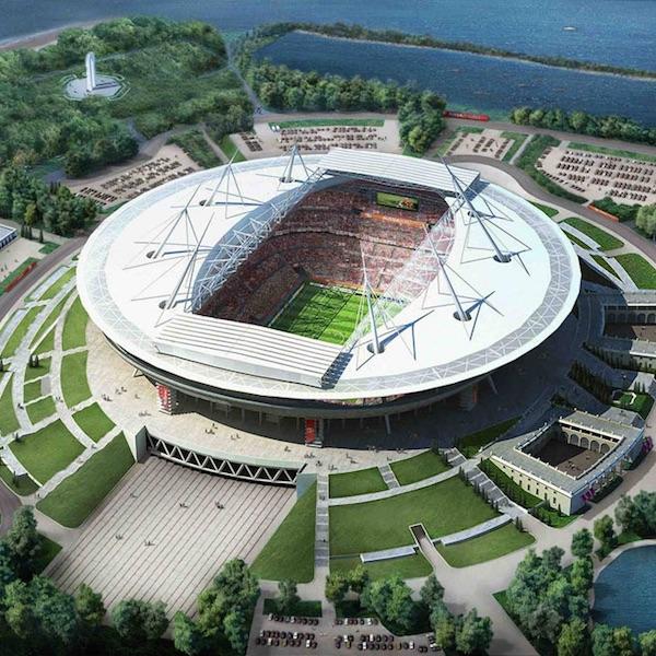 Lo stadio di San Pietroburgo