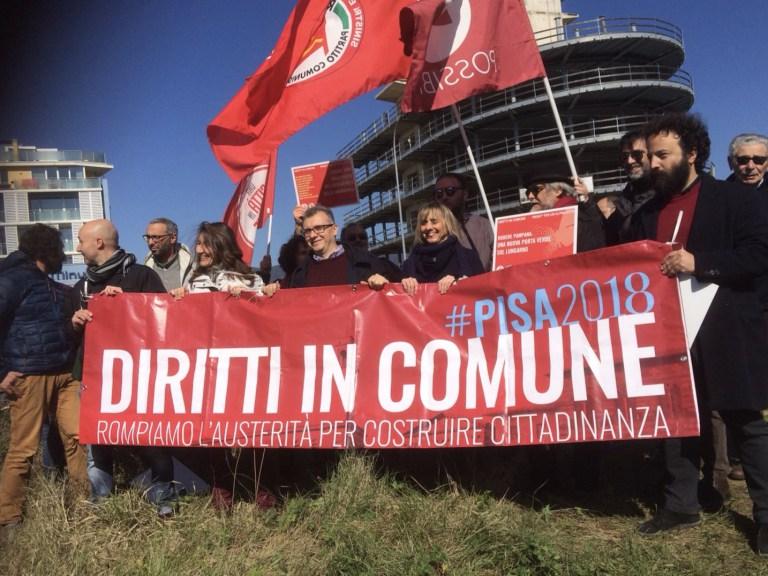 Sit in di Diritti in comune con Ciccio Auletta
